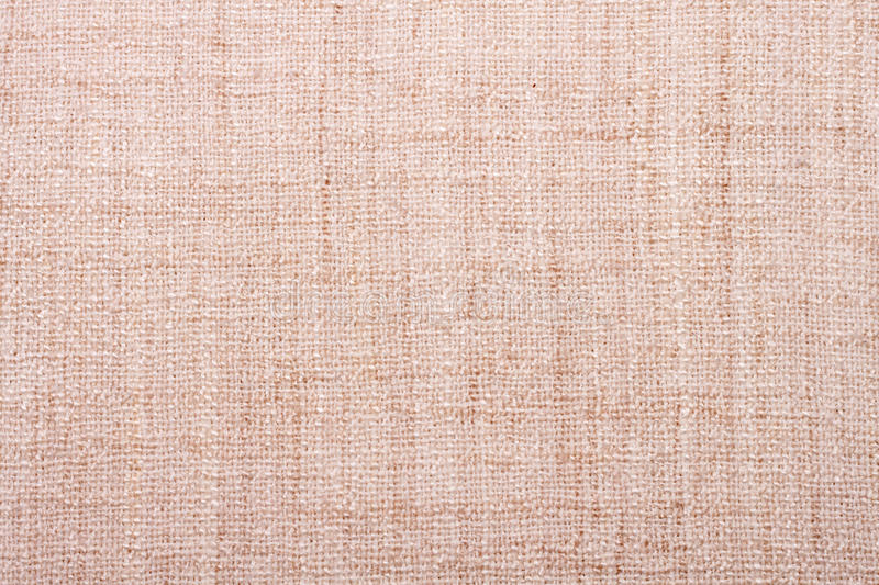 Sackcloth. Blank old sackcloth as a texture or background stock images