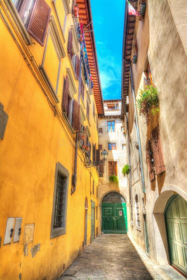 Sackgasse in Florenz, Italien lizenzfreie stockbilder