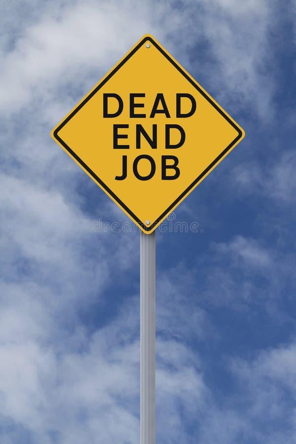 Sackgasse-Job stockfoto