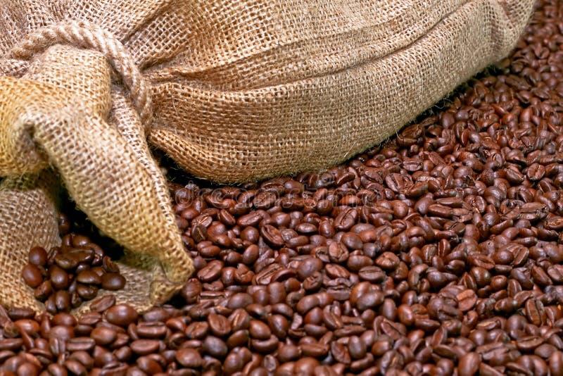 Sackkaffee stockfotos