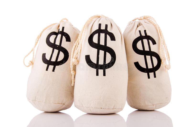 Download Sacks full of money stock photo. Image of sack, background - 30346906