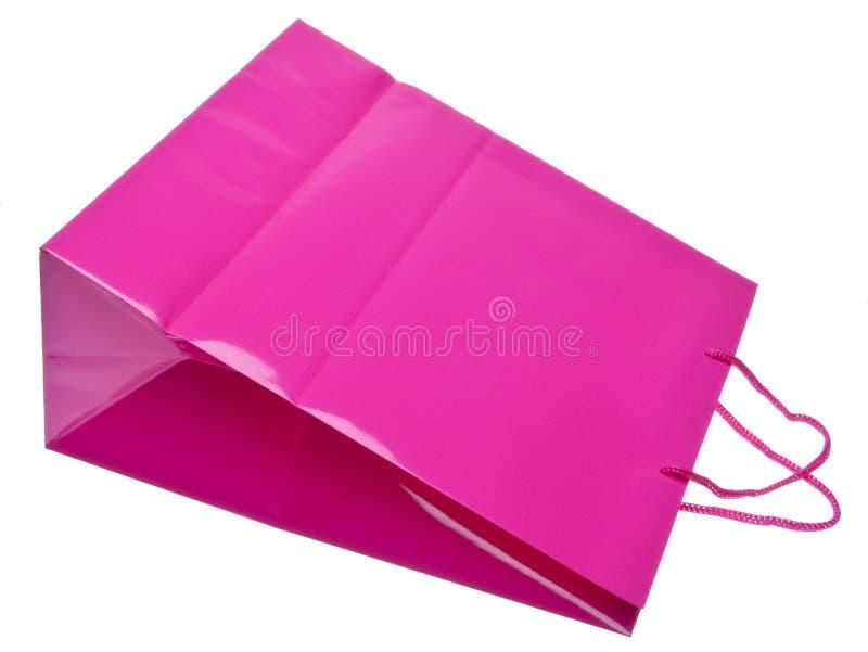 Saco colorido do presente ou de compra fotografia de stock royalty free
