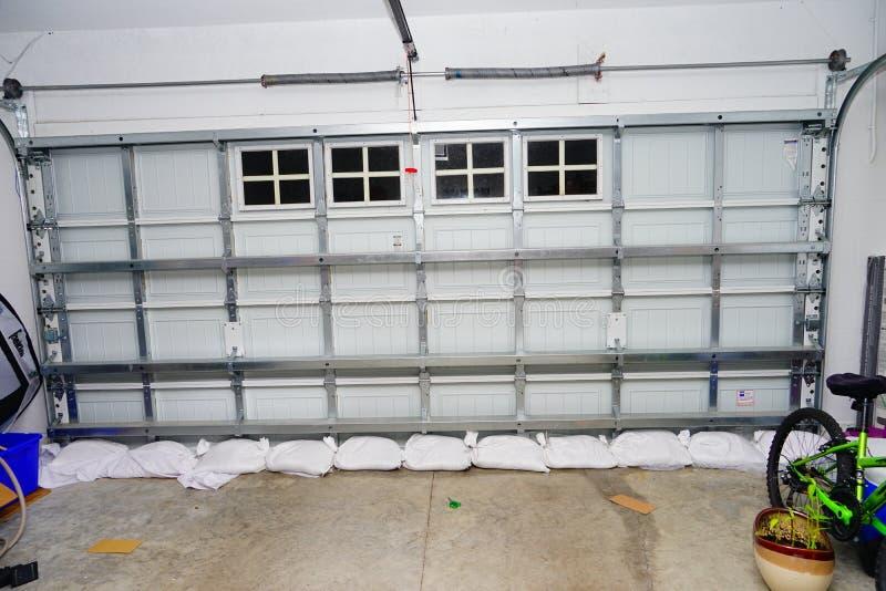 Saco da areia para a proteção de inundação imagem de stock