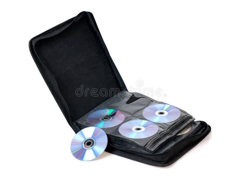 Saco de CD/DVD foto de stock