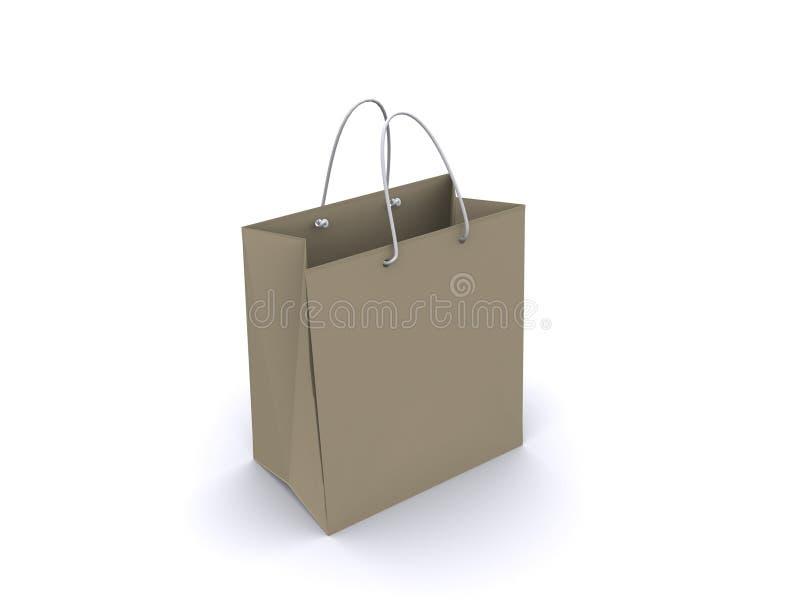 Saco de compra ilustração do vetor