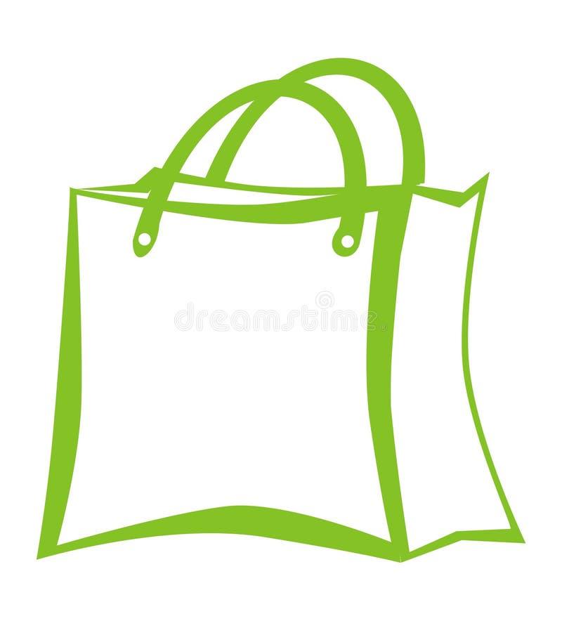 Saco de compra ilustração stock