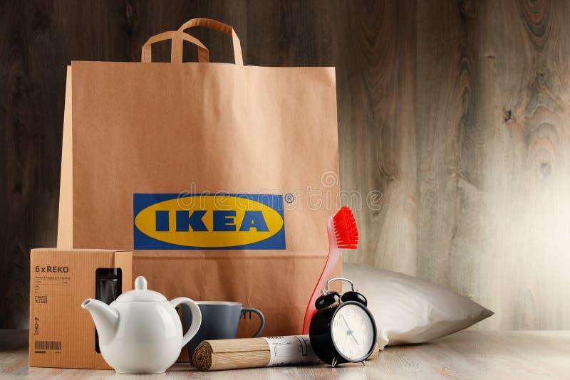 Download Saco De Compras Original Do Papel De IKEA E Seus Produtos Foto de Stock Editorial - Imagem de caneca, dispositivos: 80100933