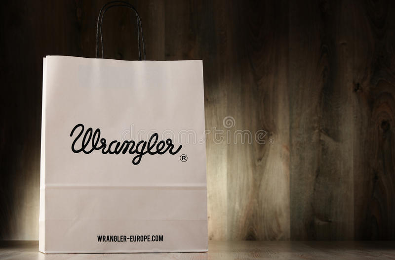 Download Saco De Compras Original Do Papel Do Wrangler Imagem Editorial - Imagem de carolina, papel: 80100440