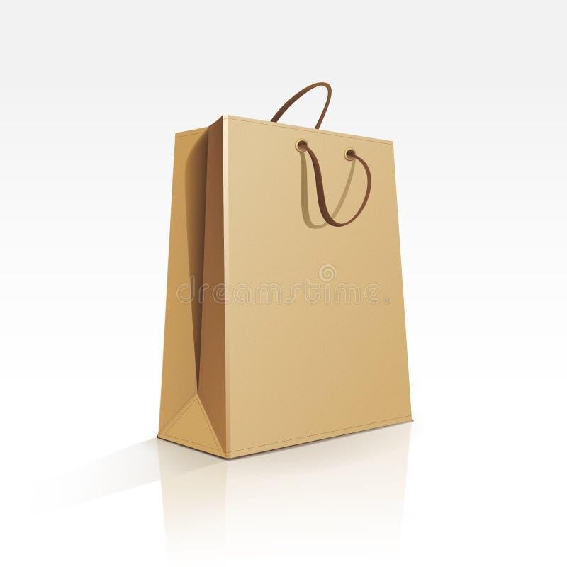 Download Saco De Compras Vazio No Fundo Branco Ilustração do Vetor - Ilustração de anunciar, alimento: 29849273