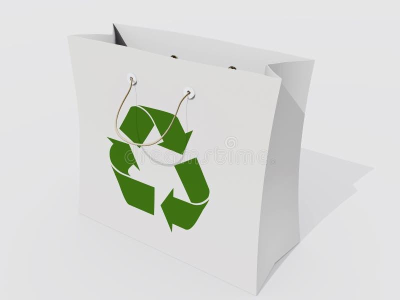 Saco de Eco ilustração royalty free