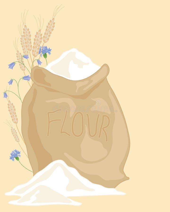 Saco de harina libre illustration