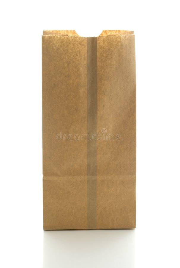 Saco de papel de Brown. imagem de stock royalty free