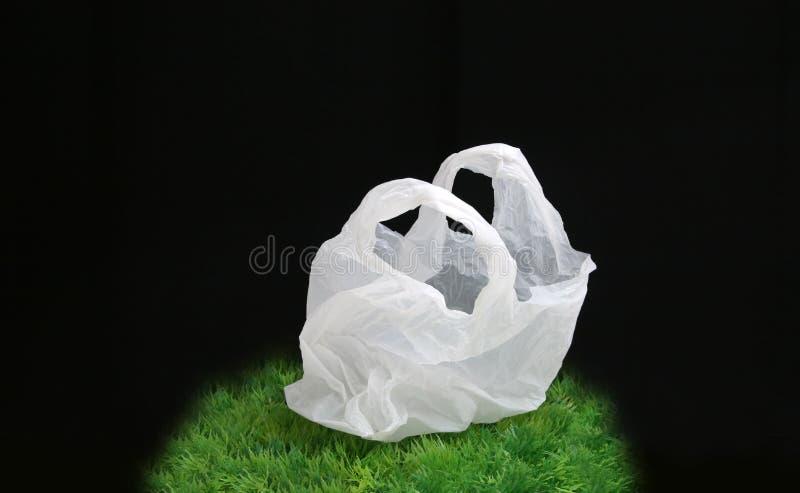 Saco de plástico imagens de stock royalty free