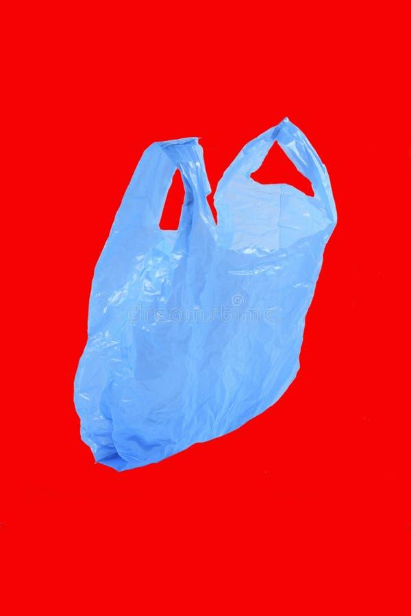 Saco de plástico isolado foto de stock royalty free