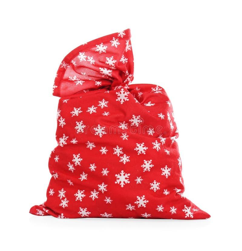 Saco de Santa Claus fotografia de stock