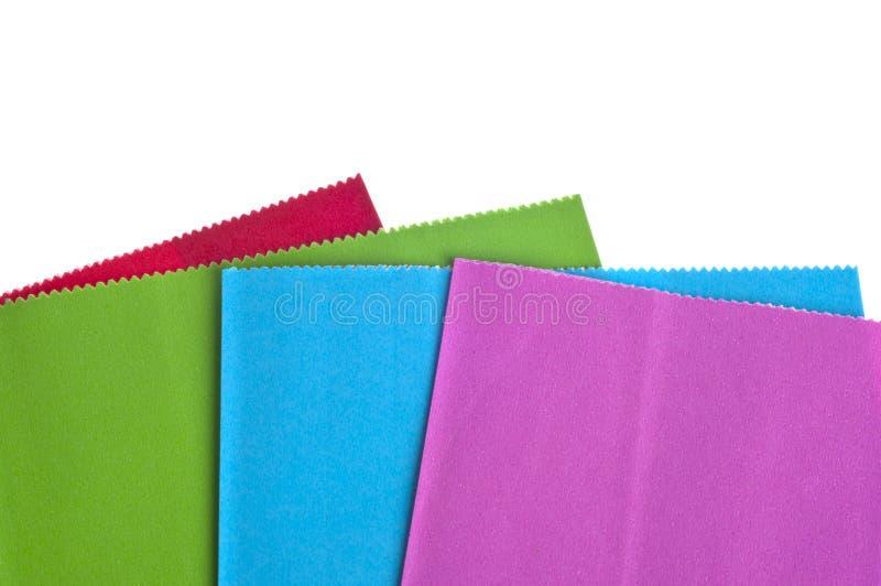 Sacos coloridos do presente fotos de stock