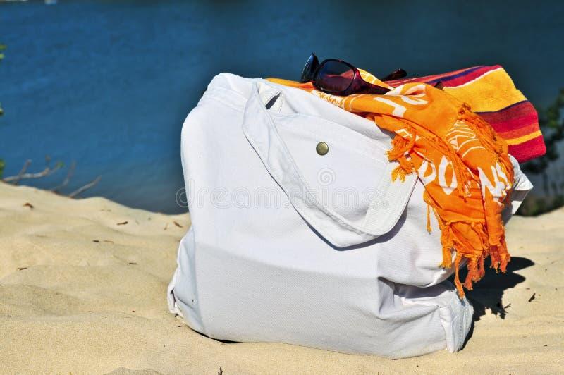 Sacos da praia imagens de stock royalty free