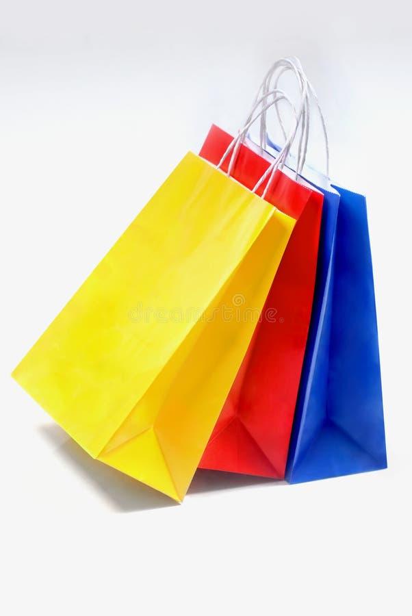 Sacos de compra imagens de stock royalty free