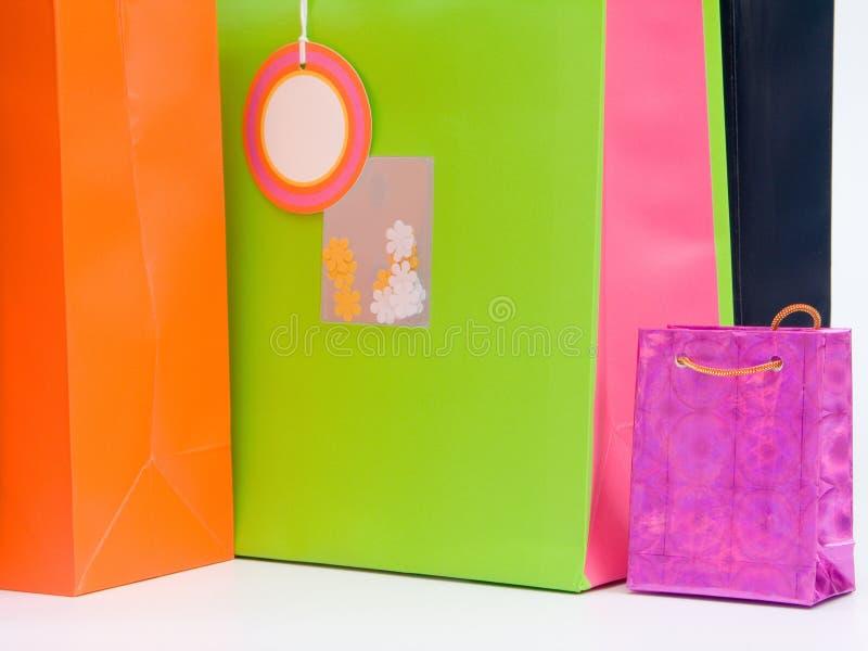 Sacos de compra #4 imagens de stock royalty free