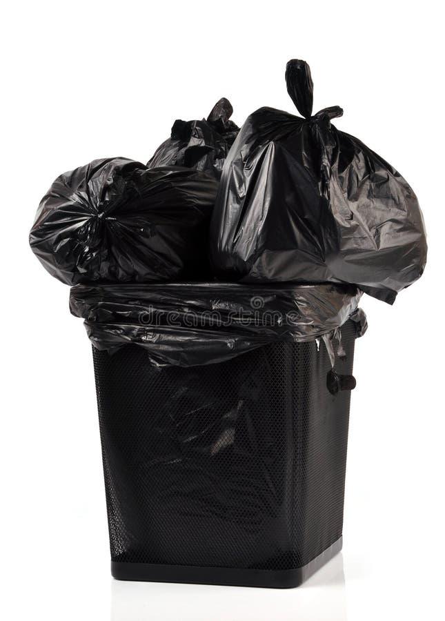 Sacos Waste imagem de stock
