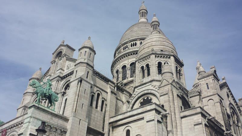 Sacré-Coeur de París fotografía de archivo libre de regalías