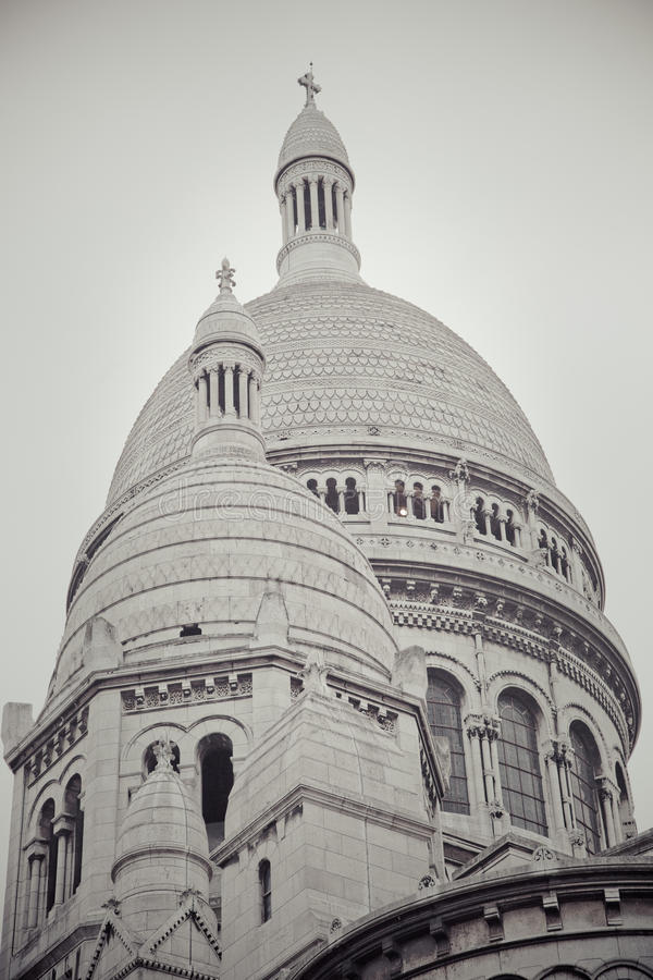 Sacré-Cœur 图库摄影