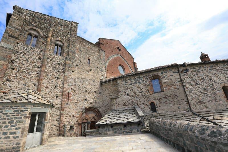 Sacra Di SAN Michele Piedmont στοκ φωτογραφία