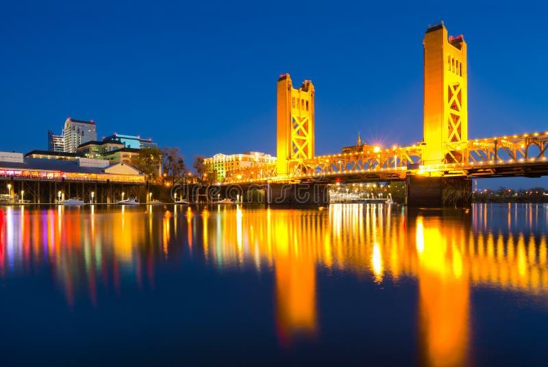 Sacramento Californië stock afbeelding