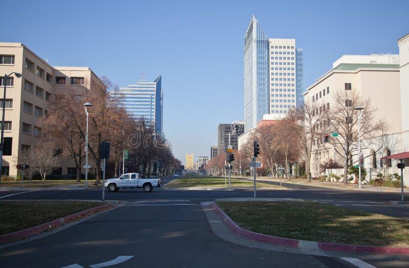 Sacramento Capital Mall stock photos