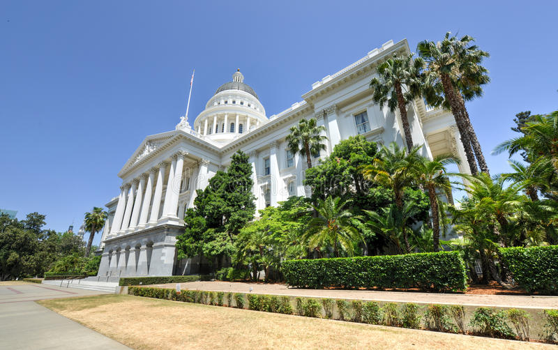 California State House And Capitol Building, Sacramento Stock Image ...