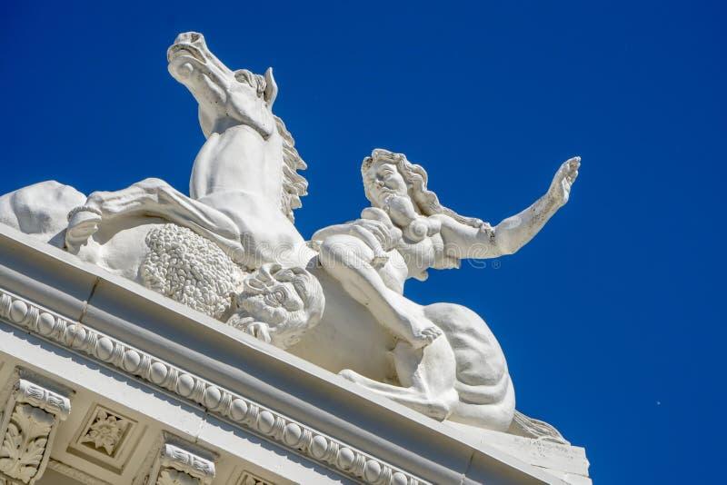 Sacramento Kapitoliumbyggnad i Kalifornien arkivbilder