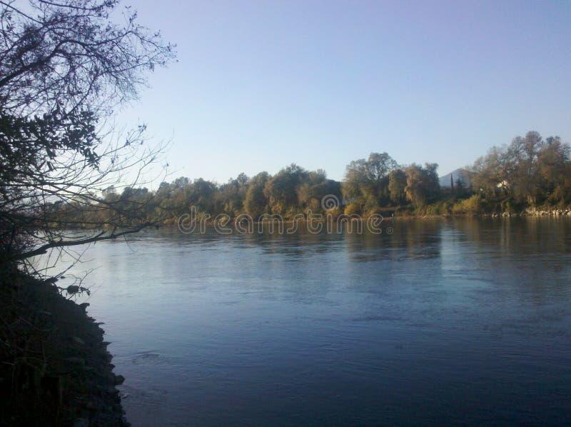 Sacramento rzeka obraz royalty free