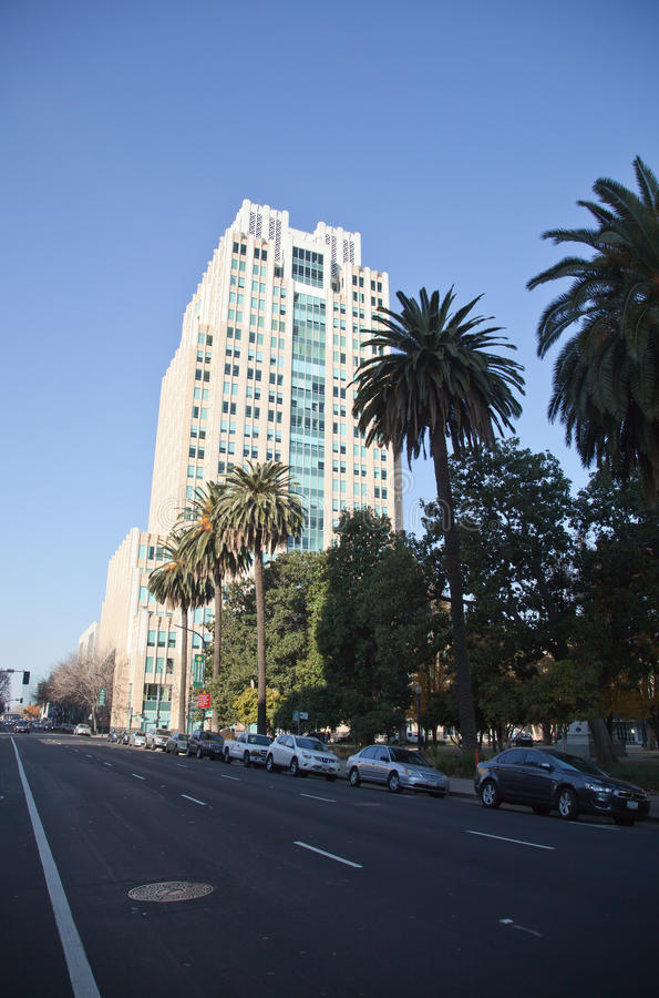 Sacramento Skyline royalty free stock images