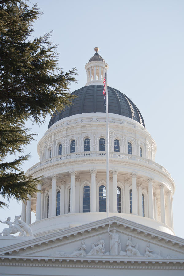 Sacramento State Capitol stock images