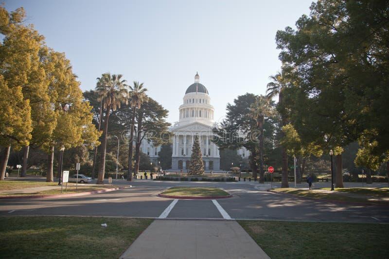 Sacramento State Capitol stock photo