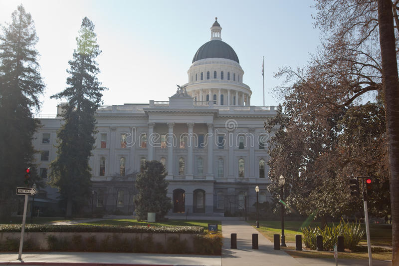 Sacramento State Capitol royalty free stock photo