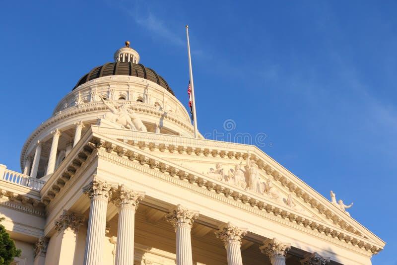 Sacramento. United States - California State Capitol building stock photos