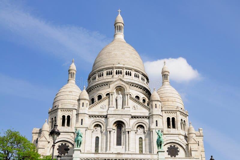 Sacre Coeur à Paris, France photo libre de droits