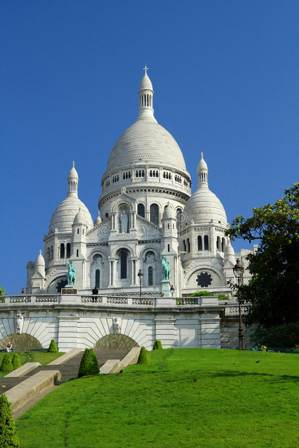 Sacre coeur stock images