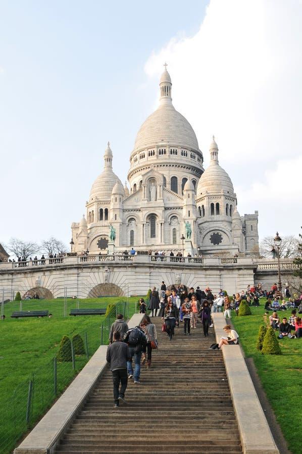 Sacre-Coeur stockbild