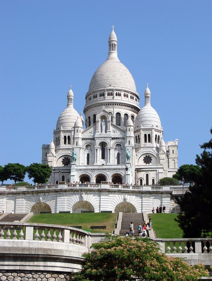 Sacre Coeur royalty-vrije stock afbeeldingen