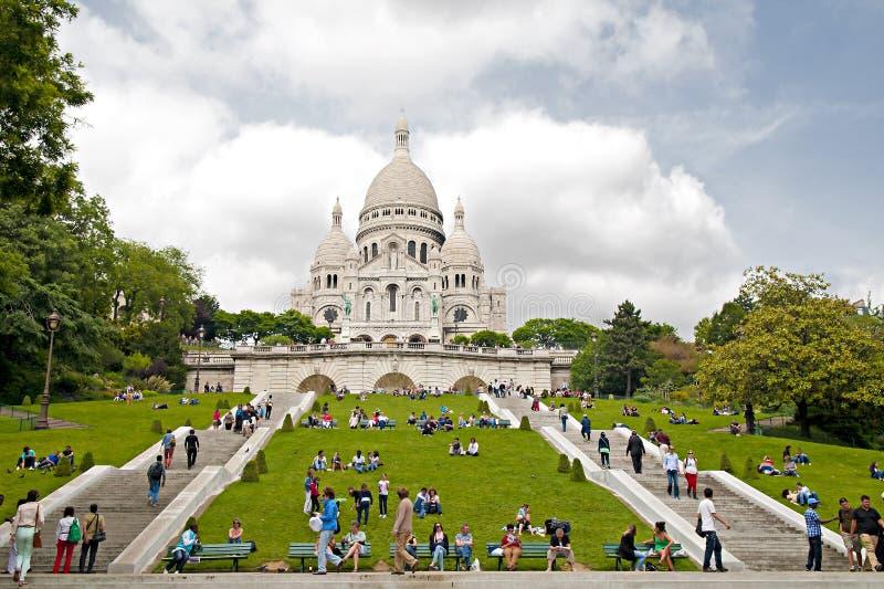 Sacre Coeur stock photos