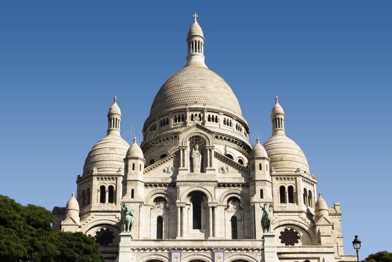 Sacre-Coeur royaltyfria foton