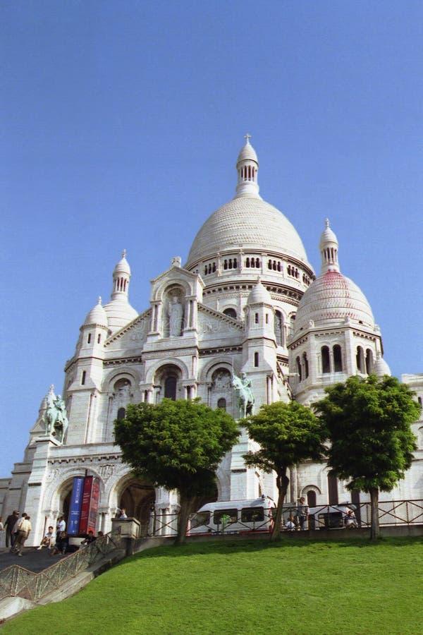 Sacre-Coeur fotografía de archivo