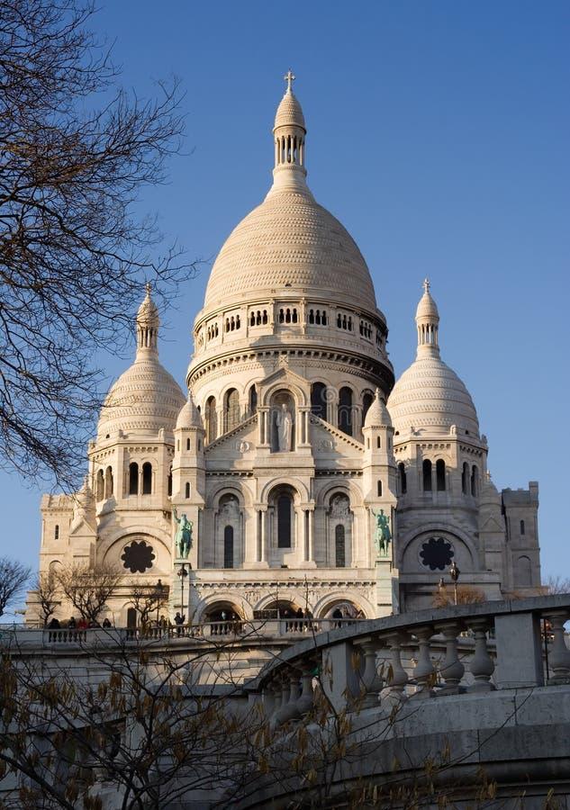 Sacre Coeur stock foto's