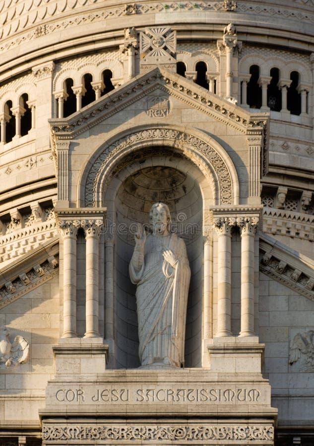 Sacre Coeur royalty-vrije stock foto