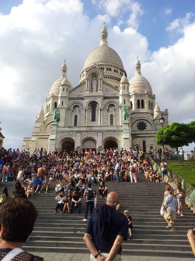 Sacre Coeur lizenzfreies stockbild