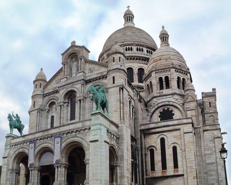 Sacre Coeur fotografia stock