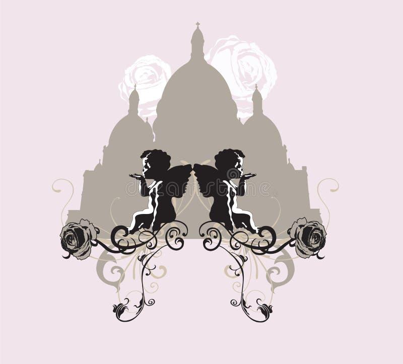 Sacre-Coeur illustrazione vettoriale