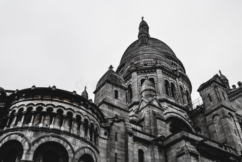 """Sacre Coeur/Basilique ur París Francia de Sacré del CÅ """" foto de archivo"""